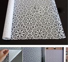 Amazon.com: Coavas Chinese characteristics Lace Flower Home Office Privacy Static Cling Frost Glass Window Film 17.7-by-78.7-Inch: Arts, Crafts & Sewing