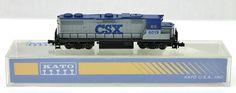 N Kato CSX #6019 GP38-2 Locomotive 176-013 #Kato