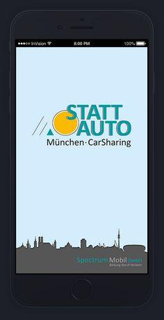 Die STATTAUTO München App