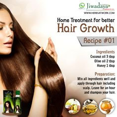 Follow some proven home remedies for hair growth.  #hairregrowth #hairgrowthremedies #hair