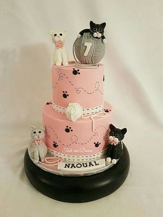 Crazy cat lady cake Little Song Bird Sweets Pinterest Lady