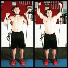 Shoulders exercise with our resistance band😉 http://www.amazon.com/dp/B0189GV8UM  #exercise #fit #fitness #gym #shoulders #resistancebands #crossfit #homegym #muscle #exercisebands #training #workouttime #workout #homeworkout