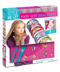Another great find on #zulily! Style Me Up! Easy Knit Jewelry Kit #zulilyfinds