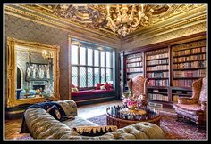 For Sale: The Luxury Home Libraries of Your Dreams
