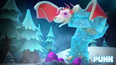 Pukk Boss Update - Ice Dragon Ice Dragon, Sonic The Hedgehog, Boss, Fictional Characters, Art, Art Background, Kunst, Performing Arts, Fantasy Characters