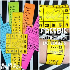 Step into 2nd Grade with Mrs. Lemons: Multiplication Fact FREEBIE
