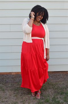 Outfit: It's Maxi Dress Season!