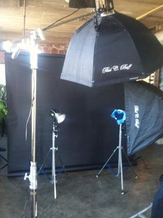 Studio time....
