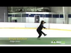 Ice Skating - The Single Salchow - the first salchow jump says its a single but its a double, don't worry!