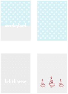 Free Christmas Journal Cards | Scrapbook Printables