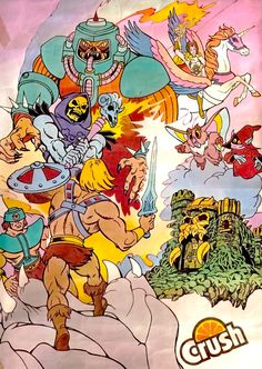 He-Man - Crush Promo. As a child loved He-man and Crush!