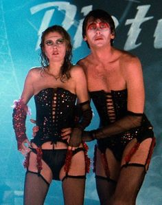 Susan Sarandon & Barry Bostwick in The Rocky Horror Picture Show