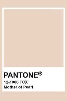 Pantone Mother of Pearl