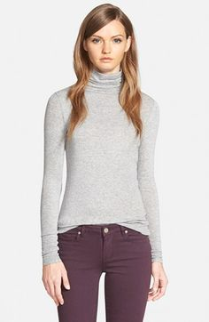 Chelsea28+Layering+Turtleneck+available+at+#Nordstrom