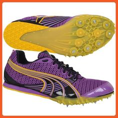 PUMA Womens Complete TFX Distance 3 Athletic Running Spikes - 12 - Athletic shoes for women (*Amazon Partner-Link)