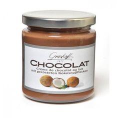Crema de chocolate BELGA con leche y coco. Original y exquisita!