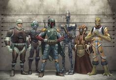 Ain't no party like a Bounty Hunter party, cause a Bounty Hunter party don't stop!