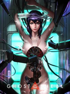 ArtStation - Ghost in the shell, Liang xing