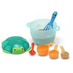 Zand speelgoed bak setje