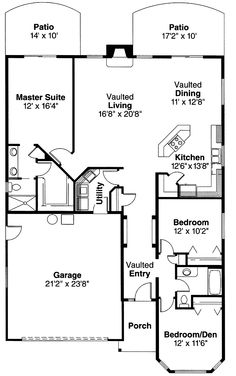 Home Plans Bungalow House Plans 3 Bedroom 2 Bathroom  ~ Great pin! For Oahu architectural design visit http://ownerbuiltdesign.com