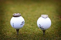 Golf course wedding...
