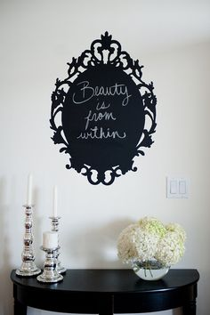 Chalk wall decal (Urban Walls)