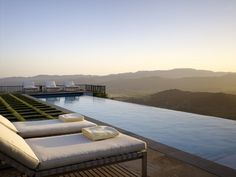 Beautiful pool and view. WANT.  By Blasen Landscape Architecture. Photo from Houzz/Matthew Millman