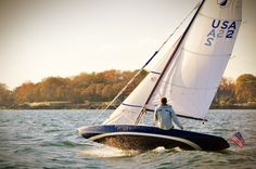I believe this is a Scandinavian SC20 class boat, fine design, but I can't get a direct link to one of their images.