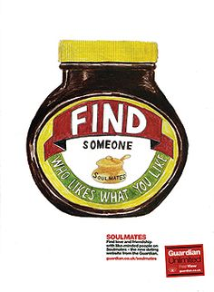 Christine Berrie Represented by Private View 350355 Guardian Marmite Food Illustrations, Illustration Art, Marmite, Find Someone Who, Visual Communication, Advertising Campaign, Words Of Encouragement, Food For Thought, Baby Food Recipes