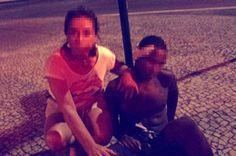 Picchiato, spogliato e incatenato a un lampione: il rapinatore esibito in Brasile http://tuttacronaca.wordpress.com/2014/02/04/picchiato-spogliato-e-incatenato-a-un-lampione-il-rapinatore-esibito-in-brasile/
