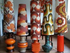 60's/70's lamps