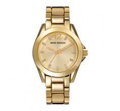 Mark Maddox Golden Chic Horloge MM3018-25 online kopen? Op werkdagen voor 23:00 besteld, volgende dag in huis. Gratis verzending en achteraf betalen!