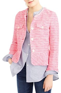 Fuchsia tweed? Yes, please