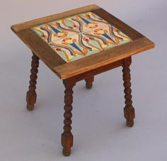 California Tile Table Tiled Tables Antique Monterey Rancho And Furniture Lighting At Revival Antiques For The Home Pinterest Tab