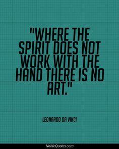 Leonardo da Vinci Quotes   http://noblequotes.com/