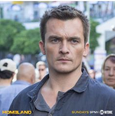 Rupert Friend as Peter Quinn on #HOMELAND