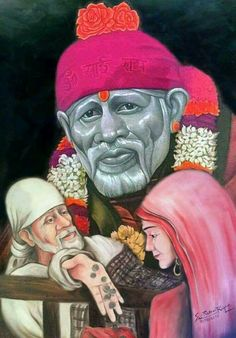 Om sai ram Sai Baba Pictures, Sai Baba Photos, God Pictures, Sai Baba Hd Wallpaper, Sai Baba Wallpapers, Swami Samarth, Sathya Sai Baba, Baba Image, Tanjore Painting
