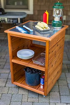 FREE Project Plan of the Month: Grilling Station - Kreg Owners' Community