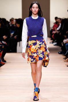 forlikeminded: Carven - Paris Fashion Week - Fall 2015 Mona Matsuoka