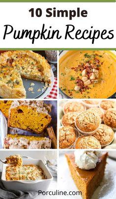 Lunch Recipes, Dessert Recipes, Dinner Recipes, Healthy Recipes, Desserts, Pumpkin Recipes, Fall Recipes, Best Pumpkin, Food To Make