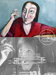 Posture inspiration for the painting 'Unwisdom'.  #art #dutchart #painting #kunst #schilderij #artwork #inspiration #picasso #matisse #klimt #portrait