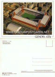 € 0,70 - code : ITA-022 - Genova - Ferraris - stadium postcard cartolina stadio carte stade estadio tarjeta postal