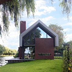 Woning aan de Vliet : Moderne huizen van VVKH Architecten