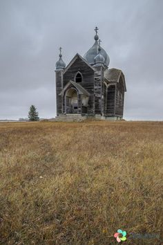 Photos of some abandoned and infrequently used rural Churches in Saskatchewan Derelict Buildings, Abandoned Churches, Old Churches, Old Buildings, Abandoned Places, Places To Travel, Places To See, Paranormal Pictures, Canadian Prairies