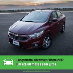 LANÇAMENTO  Juntamente com o Onix, a Chevrolet lançou o Prisma 2017, que chega ao mercado com um novo visual e mais equipamentos.   Veja as novidades a aproveite para programar a compra do seu pelo consórcio: https://www.consorciodeautomoveis.com.br/noticias/lancamento-chevrolet-prisma-2017-pelo-consorcio?idcampanha=206&utm_source=Pinterest&utm_medium=Perfil&utm_campaign=redessociais