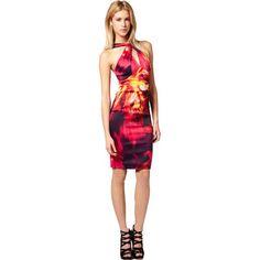 Karen Millen Neon Print Dress Pink and Multicolour K062E  http://www.ekarenmillen.com/karen-millen-neon-print-dress-pink-and-multicolour-k062e-p-8845.html