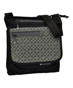 Take a look at this Pewter Embroidered Jag Crossbody Bag by Sherpani on #zulily today!