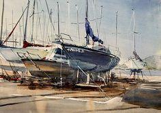 Kazuo Kasai Gallery at Enoshima Yacht Harbor