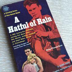 A Hatful of Rain  Vintage 1950s Pulp Fiction Paperback Book