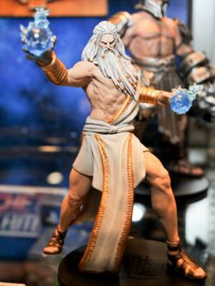 Zeus God of War 3 Action Figure DC Direct Series 1